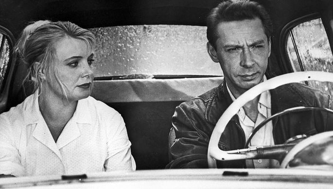 Татьяна Доронина и Олег Ефремов в кадре из фильма Татьяны Лиозновой «Три тополя на Плющихе», 1968 год