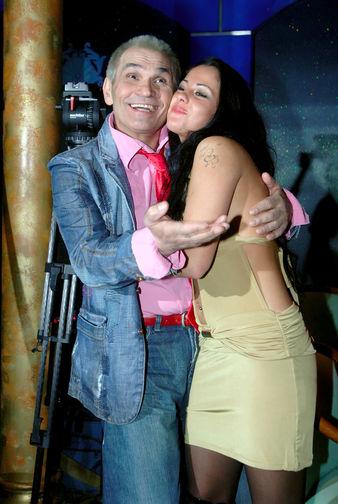 Продюсер Бари Алибасов и актриса Елена Беркова, 2007 год