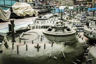 Модернизация боевых танков Т-72 на дочернем предприятии ОАО «НПК «Уралвагонзавод» в Омске