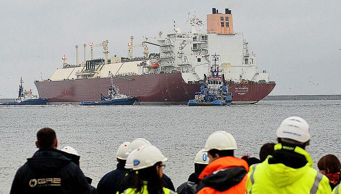 Избавиться от России: на Украину везут американский газ
