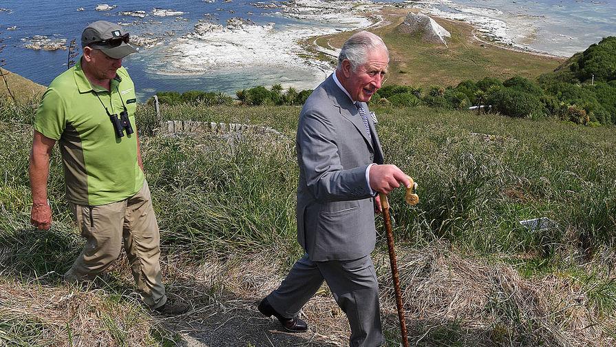 Принц Чарльз в компании двух телезвезд будет бороться против пищевых отходов