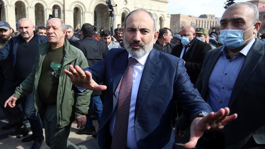 Пашинян заявил, что не допустит военного переворота в Армении