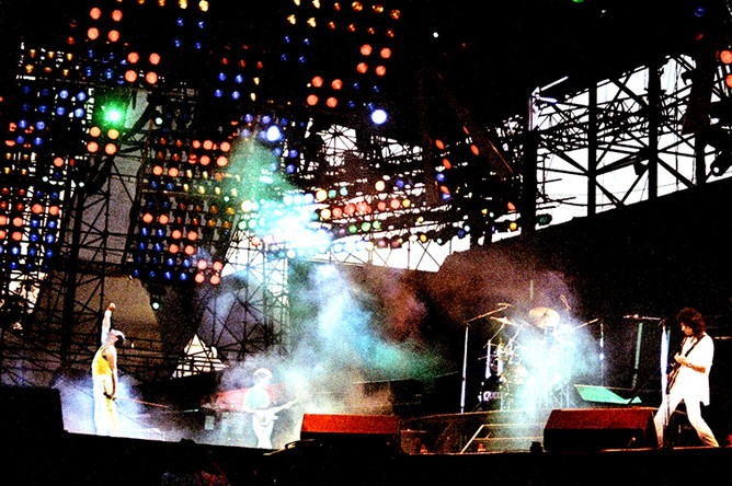 Последний концерт Queen 9 августа 1986 года