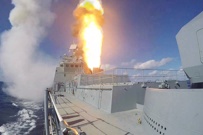 СКР «Адмирал Григорович» впервые задействован в операции в Сирии