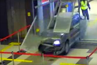 Скриншот из видеозаписи инцидента в аэропорту Казани