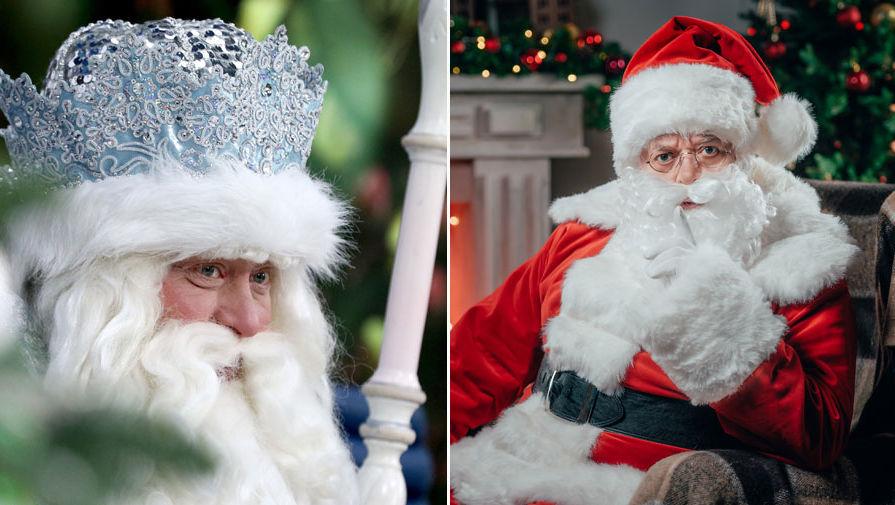 """Политический обозреватель """"Газеты.Ru"""" - об отношениях Деда Мороза и Санта Клауса"""