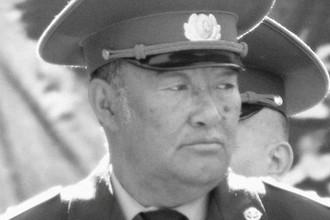 Бывший командир 177-го отдельного отряда специального назначения Борис Керимбаев в Алма-Ате, 9 мая 2009 года