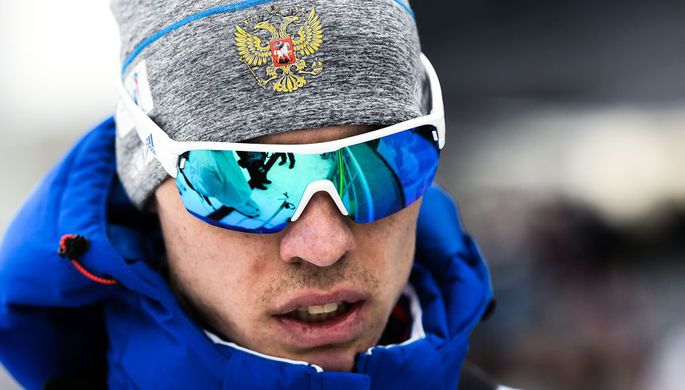 Российский биатлонист Никита Поршнев