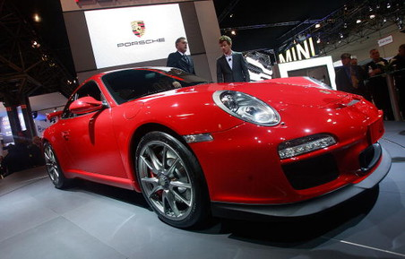 ���������� ��������� ������ Porsche 911 GT3 �� ��������� �������� �� �������� �������� �����������