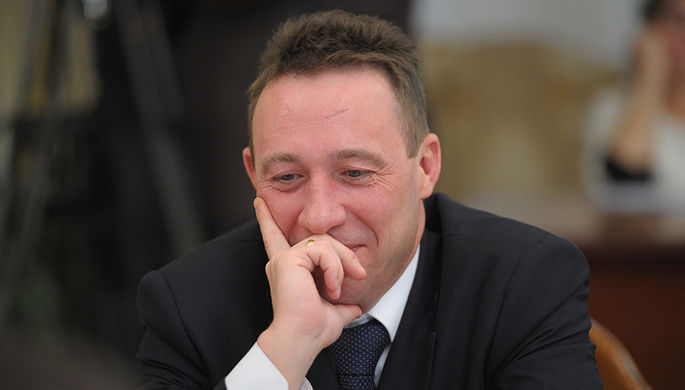 Полпред президента в УФО Игорь Холманских