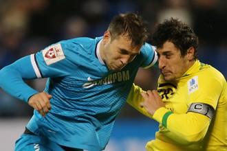 Артем Дзюба уже оформил в этом сезоне против «Анжи» дубль, но тогда «Зенит» не смог победить