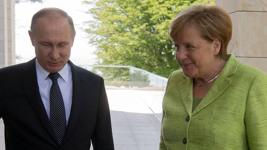 Меркель опровергла зависимость ФРГ от России из-за газа