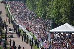 Толпа насвадьбе принца Гарри и Меган Маркл вВиндзоре, 19 мая 2018 года