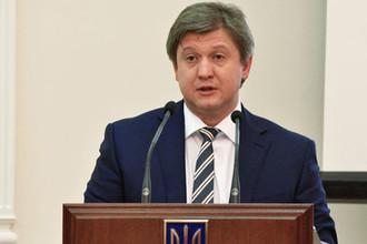 Министр финансов Украины Александр Данилюк на заседании Кабинета министров Украины в Киеве, 2016 год