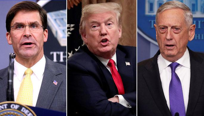 Американский хаос: почему Трамп поссорился с военными