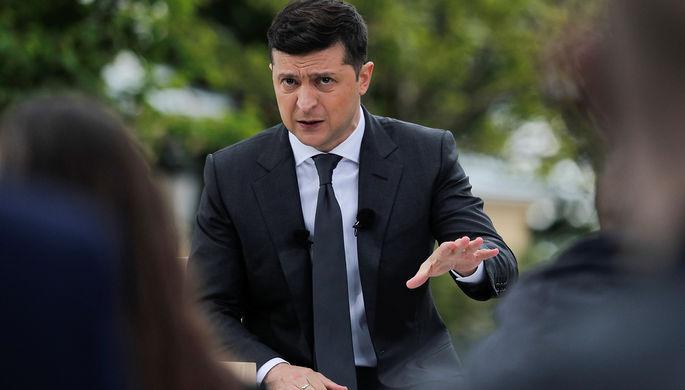 Министр иностранных дел Украины Вадим Пристайко на первом заседании девятого созыва Верховной рады Украины в Киеве, август 2019 года