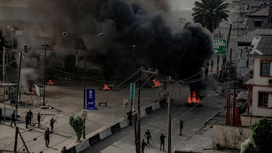 Amnesty International: по меньшей мере 12 человек погибли в результате протестов в Нигерии