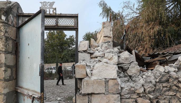 «Серьезные удары»: в Баку сообщили об отступлении армянских войск