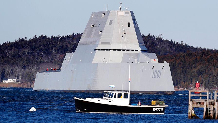 «Замволт»: суперсовременные эсминцы ВМС США остались без боеприпасов