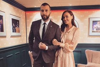 Телеведущий Иван Ургант и модель Ирина Шейк