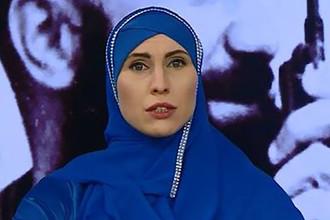 Амина Окуева, фото с личной страницы