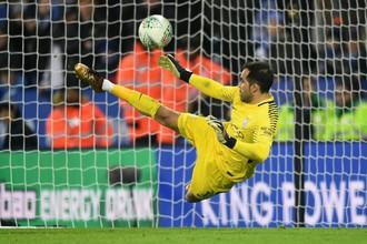 Вратарь «Манчестер Сити» Клаудио Браво