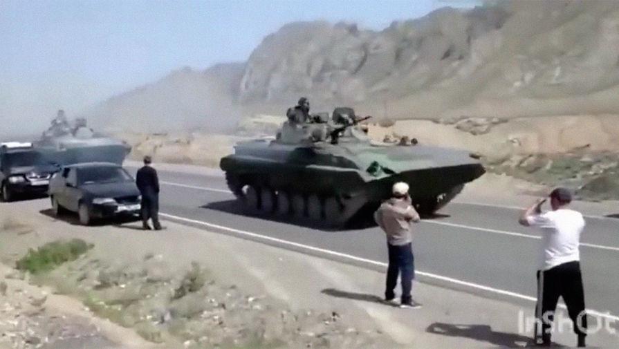 Киргизия заявила о гибели ребенка в ходе конфликта на границе с Таджикистаном
