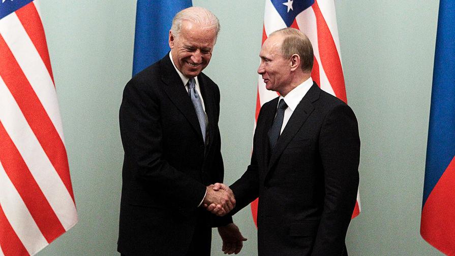 Названы темы саммита Путина и Байдена