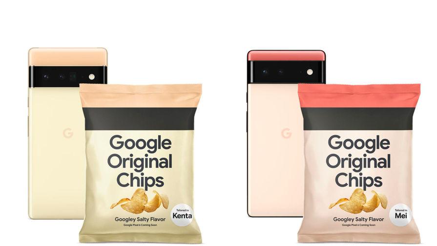 Google раздала чипсы в честь выхода нового смартфона