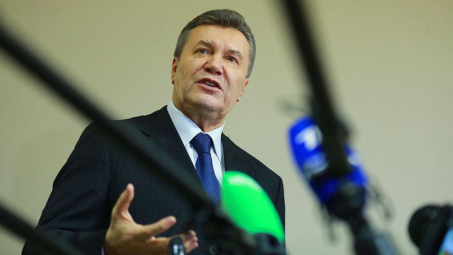 Бывший президент Украины Виктор Янукович в Дорогомиловском суде Москвы, декабрь 2016
