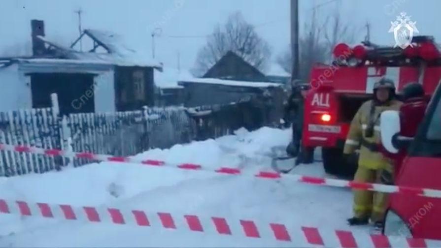 Стали известны возможные причины пожара в Кузбассе, где погибли шестеро детей