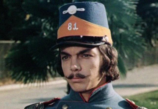 Сергей Захаров в фильме «Небесные ласточки» (1976)