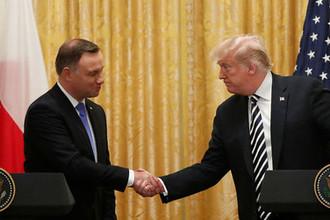Газ и защита от России: о чем поляки договариваются с Трампом