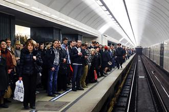 Очередной сбой в работе московского метро привел к транспортному коллапсу на востоке столицы