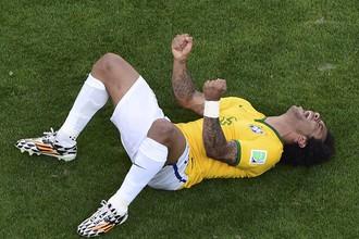 Радость Марсело и его партнеров тем сильнее, чем ближе Бразилия была к провалу
