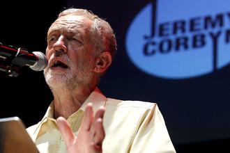 Глава британской Лейбористской партии Джереми Корбин