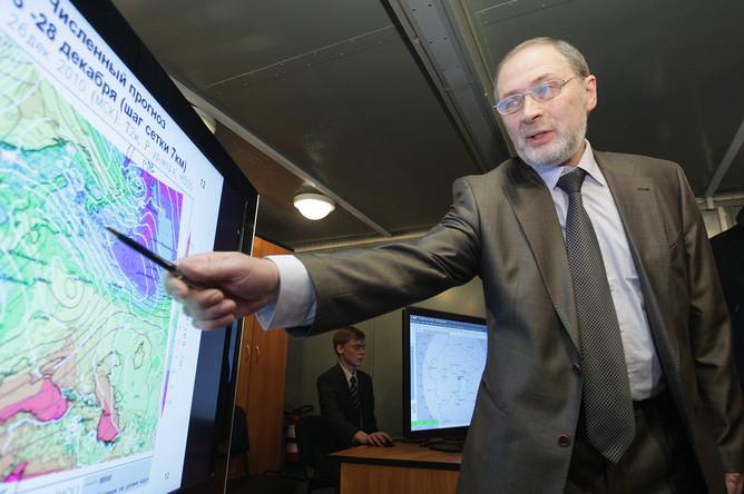 Директор ГУ «Гидрометеорологический научно-исследовательский центр Российской Федерации» Роман Вильфанд