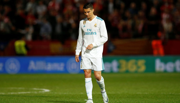 Нападающий «Реала» Криштиану Роналду