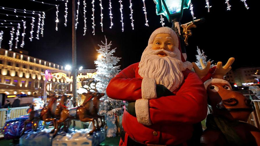 В Великобритании Санта-Клаусу разрешили не носить маску