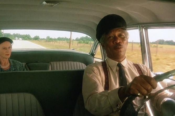 Морган Фримен. Кадр из фильма «Шофер мисс Дэйзи», 1989 год