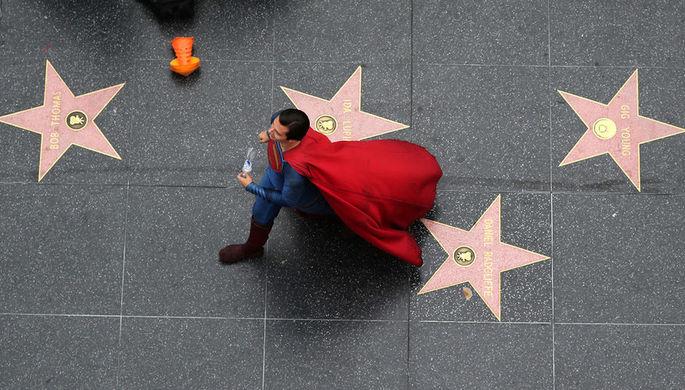 «Аллея славы» в Голливуде, штат Калифорния, 2017 год