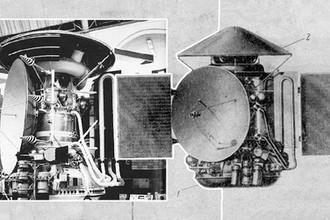 Аппарат «Марс-6», коллаж