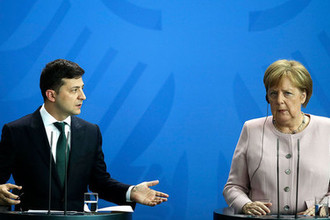 «Меркель ничего не делает»: как Зеленский оскорбил Германию