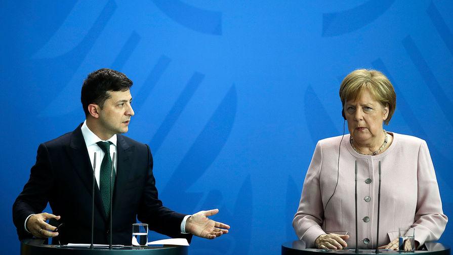 Меркель и Зеленский готовы к нормандскому саммиту