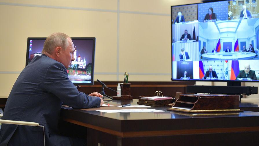 Путин заявил о важности обмена информацией с другими странами о COVID-19