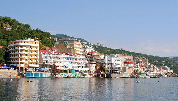 Отели на побережье поселка Малый Маяк Южного берега Крыма
