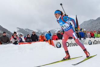 Российская биатлонистка Дарья Виролайнен