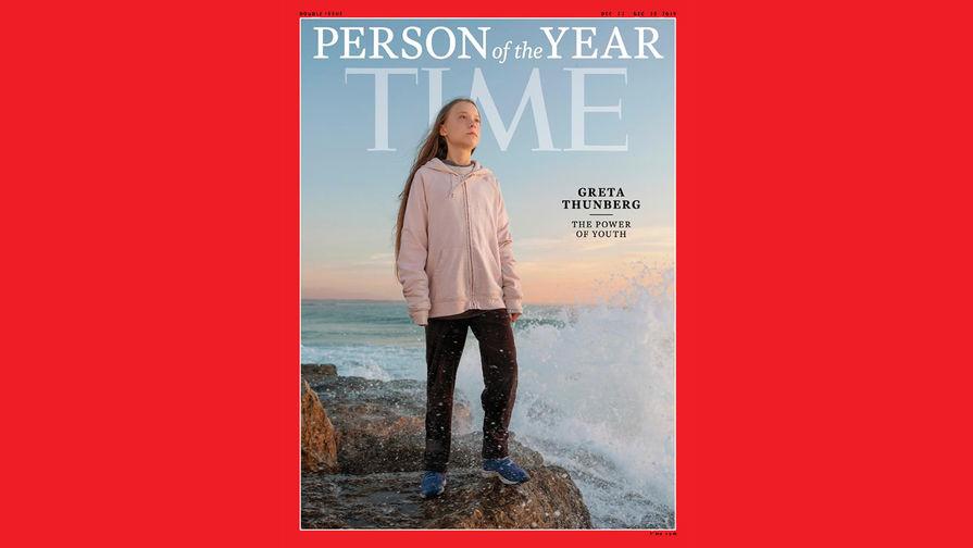 Грета Тунберг на обложке журнала Time