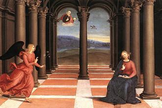 Рафаэль Санти. Благовещение. 1502-1503
