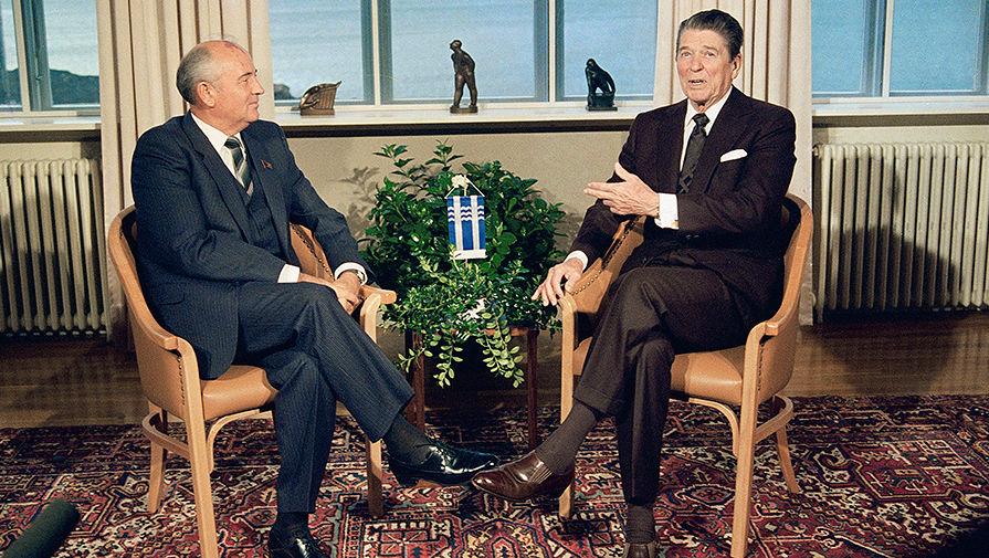 30 лет назад состоялась первая двусторонняя встреча Михаила Горбачева и Рональда  Рейгана - Газета.Ru